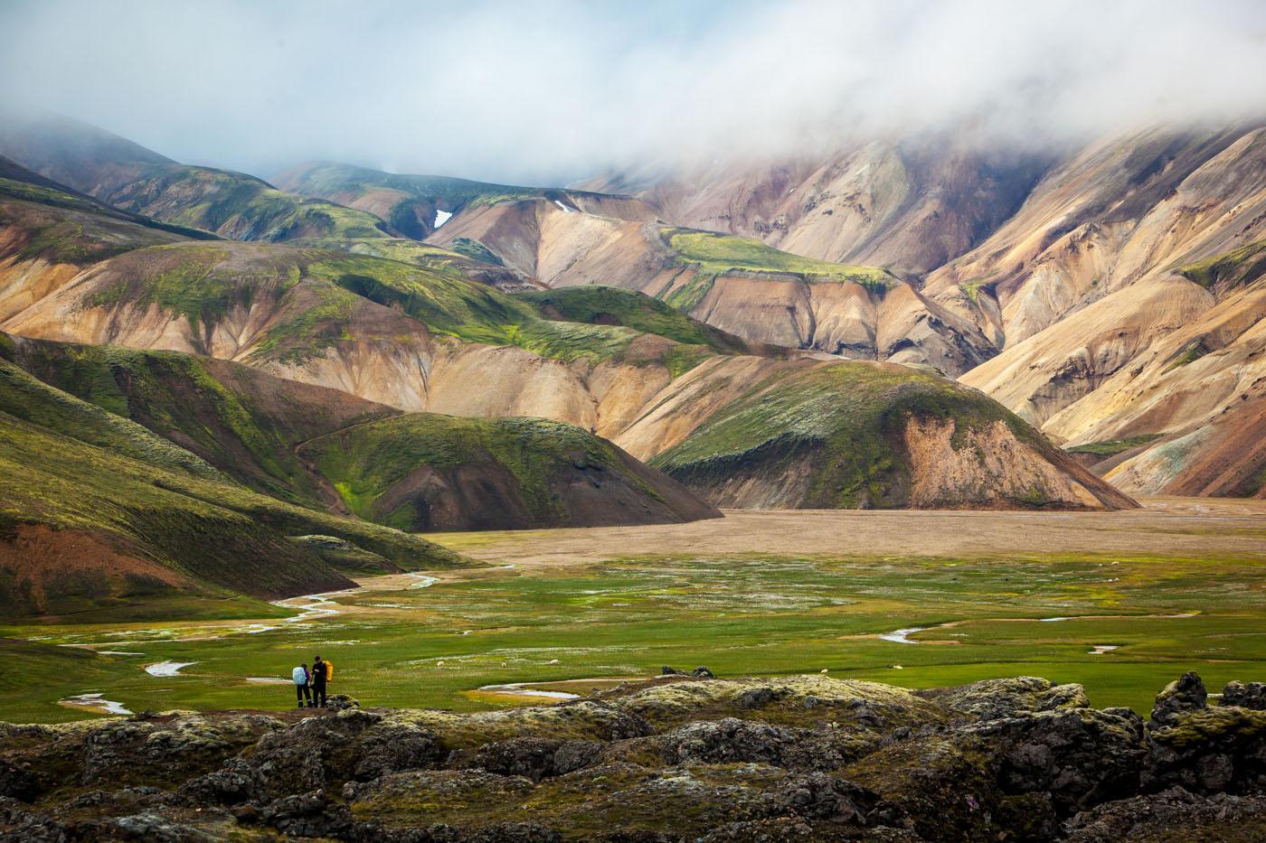 La Balade du Jour : Admirez la région volcanique de Landmannalaugar, beauté islandaise ! Par Marie Leyronnas(+Vid.30mn sur Bidfoly.com)                              ISBC13481