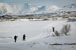 ski à  Myvatn